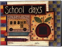 School Days Photomat Fine Art Print