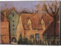French Farmhouse II Fine Art Print