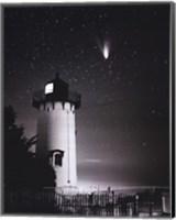 Comet Hale-Bopp Over East Chop Fine Art Print
