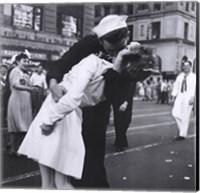 Kissing the War Goodbye, VJ Day, Times Square, August 14, 1945 Fine Art Print