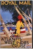 West Indies Cruise Fine Art Print