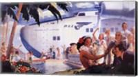 Honolulu Clipper Fine Art Print