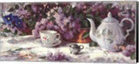 Teapot and Lilacs Fine Art Print