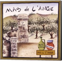 Mas De L'ange Fine Art Print
