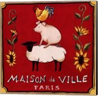 Maison De Ville Fine Art Print