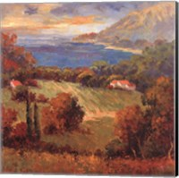 Tuscan Hill View Fine Art Print