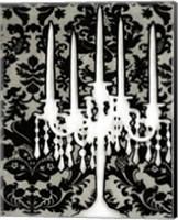 Patterned Candelabra I Fine Art Print