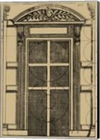 Palladian Door Fine Art Print