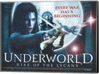 Underworld 3: Rise of the Lycans, c.2009 - style C Wall Poster