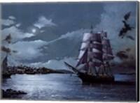 Peaceful Harbor Fine Art Print