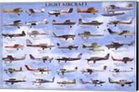General Aviation - Light Aircrafts Wall Poster