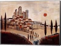 San Gimignano Fine Art Print