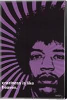 Jimi Hendrix - Craziness Wall Poster