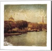 Golden Age of Paris V Fine Art Print