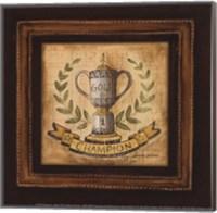 Golf Champion - petite Fine Art Print