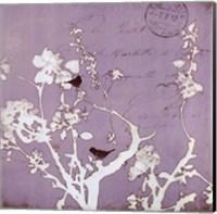 Song Birds Vii - mini Fine Art Print