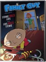 Family Guy Stewie Kills Lois Fine Art Print