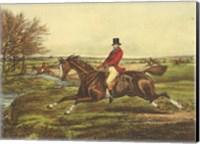 The English Hunt II Fine Art Print