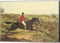 The English Hunt III Fine Art Print