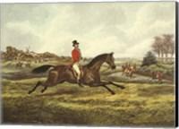 The English Hunt V Fine Art Print