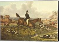 The English Hunt VII Fine Art Print