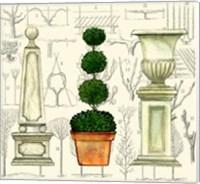Garden Topiary Fine Art Print