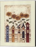 Birdhouse Row Fine Art Print