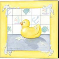Small Rubber Duck II Fine Art Print