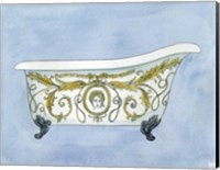 French Bath Fine Art Print