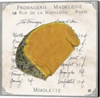 Fromages III Fine Art Print