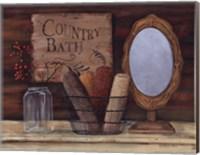 Country Bath Fine Art Print
