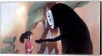 Spirited Away - little girl Wall Poster