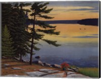 Sunrise Shore Fine Art Print