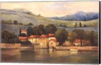Lago d'Palazzo Fine Art Print