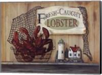 Fresh Caught Lobster Fine Art Print