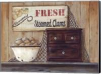 Steamed Clams Fine Art Print