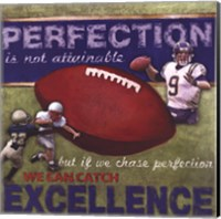 Perfection- Football Fine Art Print