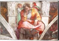 Sistine Chapel Ceiling: The Prophet Jeremiah Fine Art Print