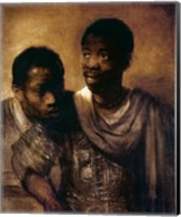 Two Negroes, 1661 Fine Art Print