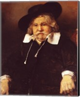Portrait of an old man, 1667 Fine Art Print