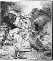 The Sacrifice of Abraham, 1645 Fine Art Print