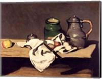 Still Life with a Kettle, c.1869 Fine Art Print