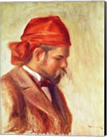 Portrait of Ambroise Vollard Fine Art Print