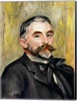 Portrait of Stephane Mallarme Fine Art Print
