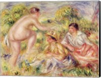 Young Girls in the Countryside, 1916 Fine Art Print