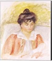 Portrait of Madame Albert Andre Fine Art Print