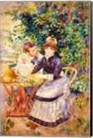 In the Garden, 1885 Fine Art Print