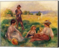 Party in the Country at Berneval, 1898 Fine Art Print