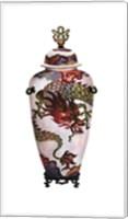 Dragon Vase Fine Art Print