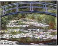 The Japanese Footbridge, 1899 Fine Art Print